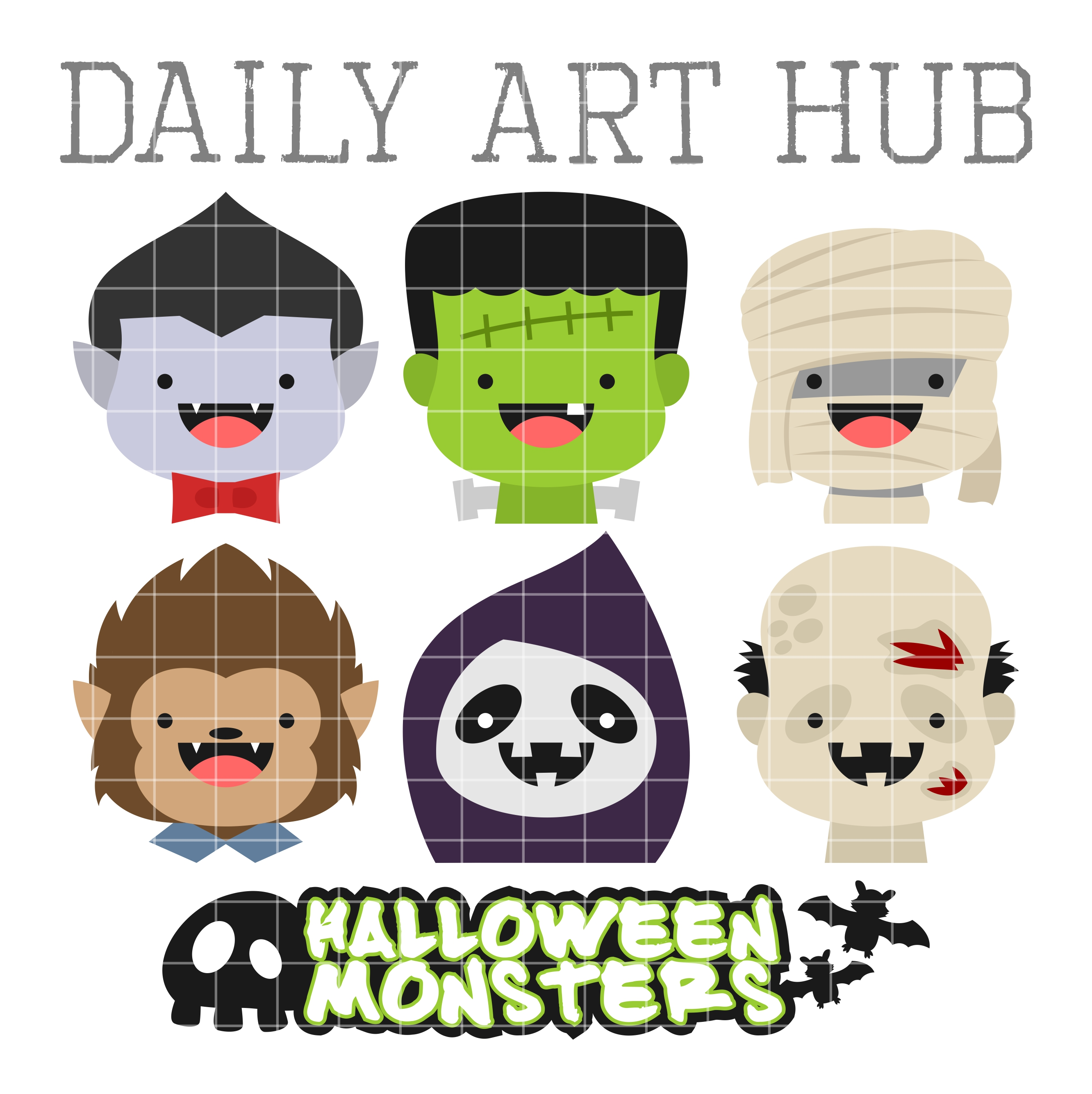 Cute Halloween Monsters Images - Reverse Search