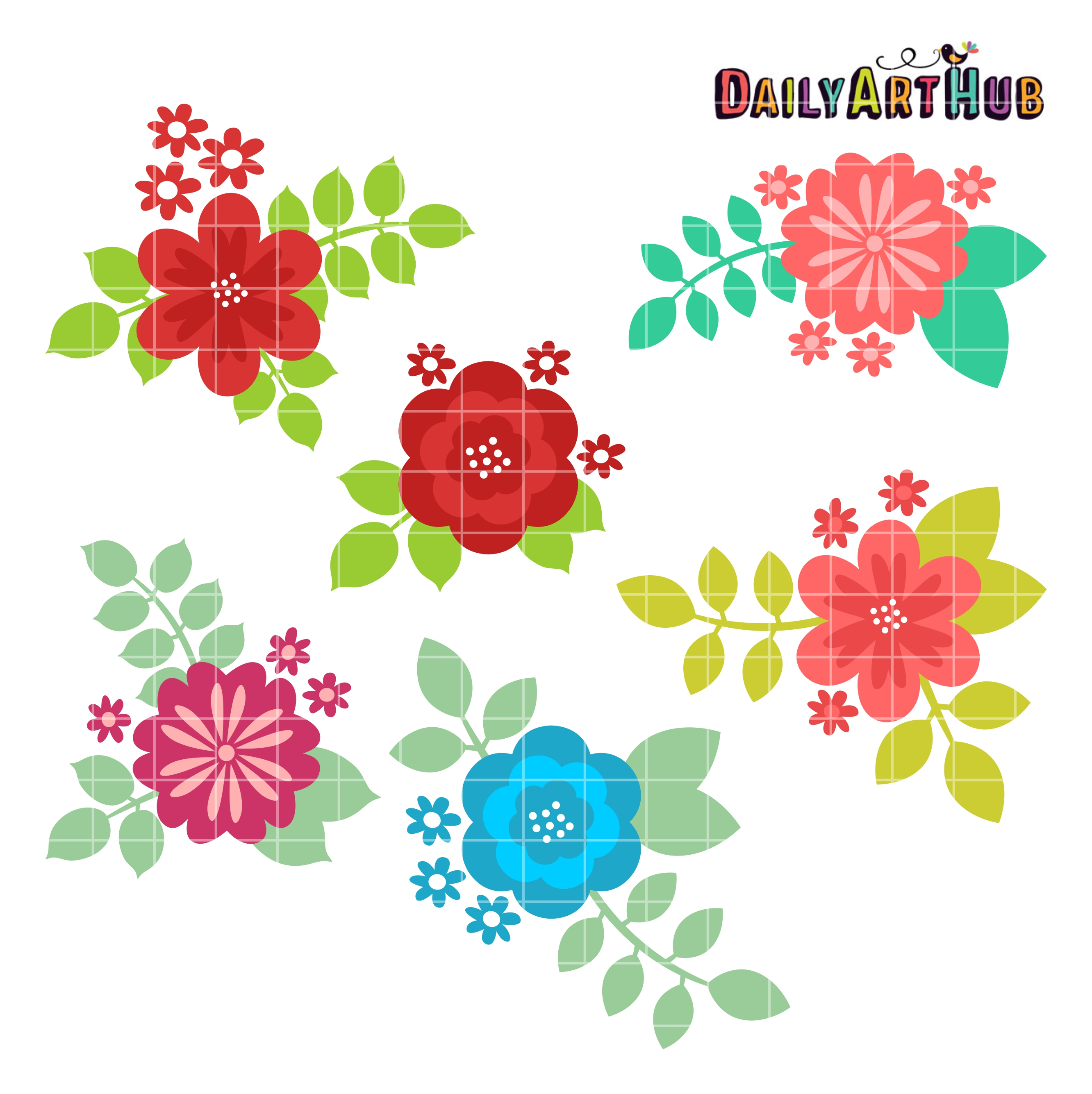 flower leaf clipart - photo #42
