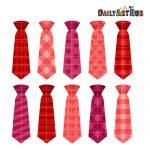 Valentine Neckties