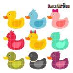 Cute Rubber Duckies