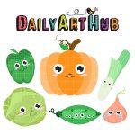 Cute Vegetables-q-01