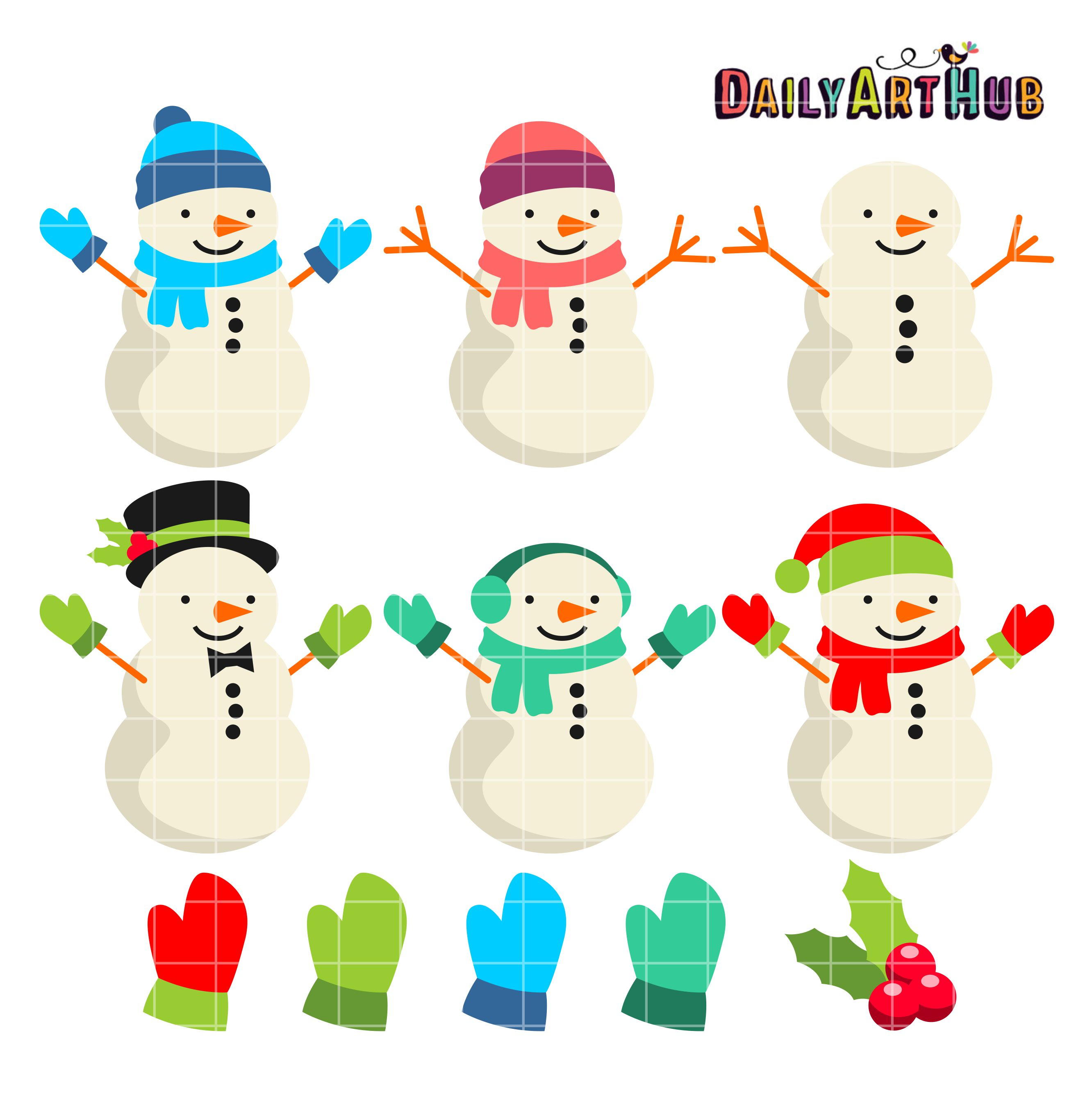 "Be the first to review ""Cute Snowman Clip Art Set"" Click here to ..."