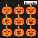 Halloween Cute Jack O Lanterns