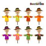 Autumn Scarecrows