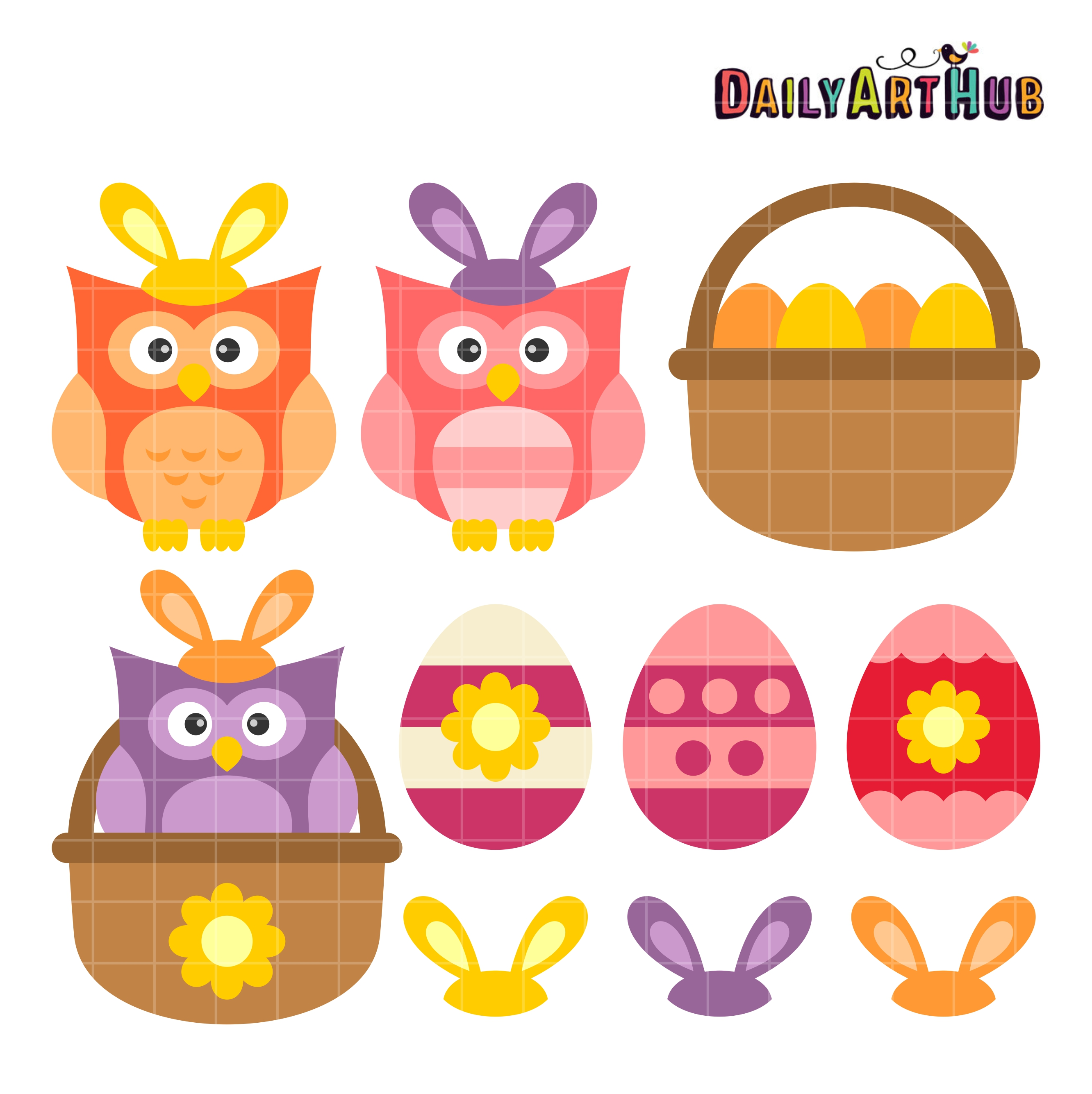 free easter owl clip art - photo #30