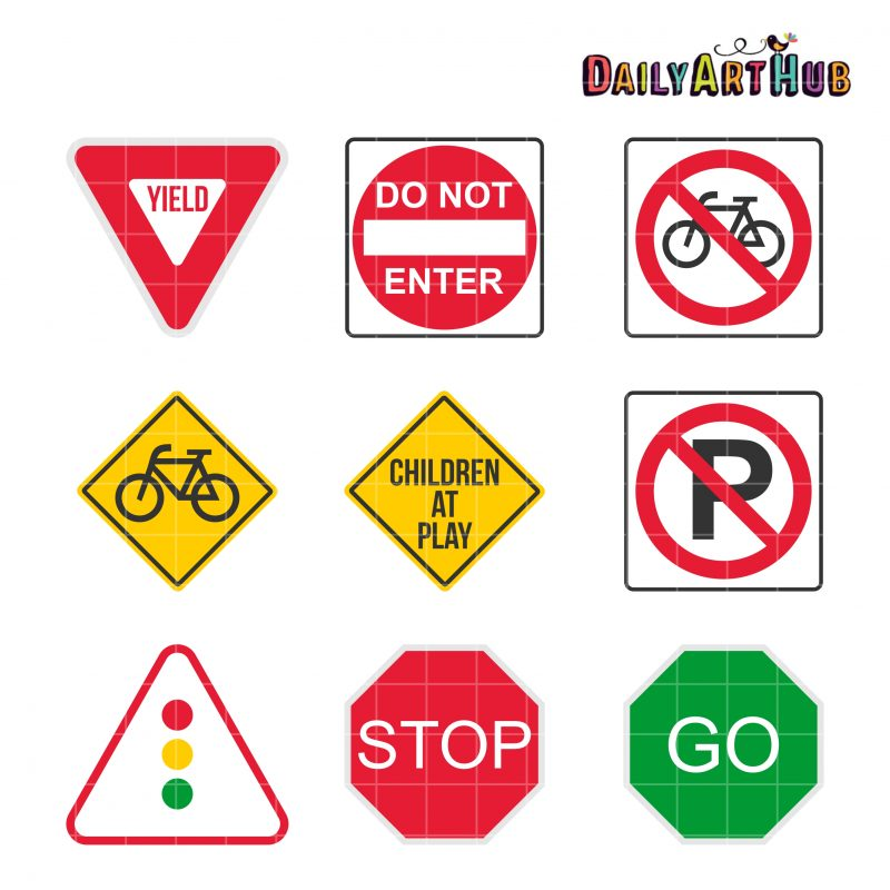 9 Road Signs