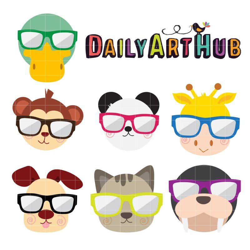 Animals And Sunglasses