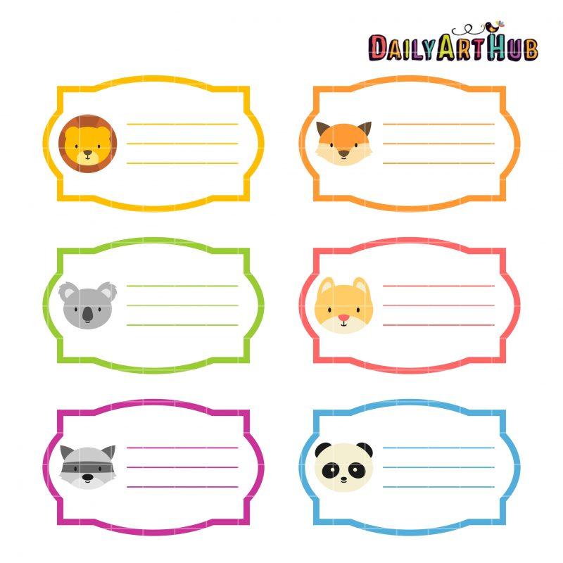 Animal Name Tags