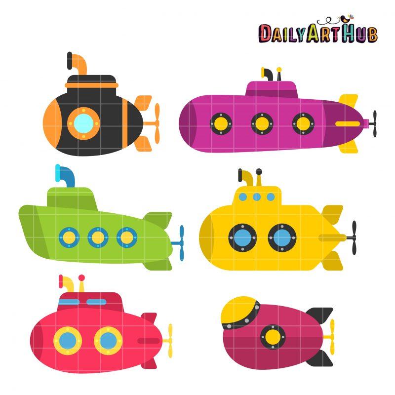 Cute Submarines