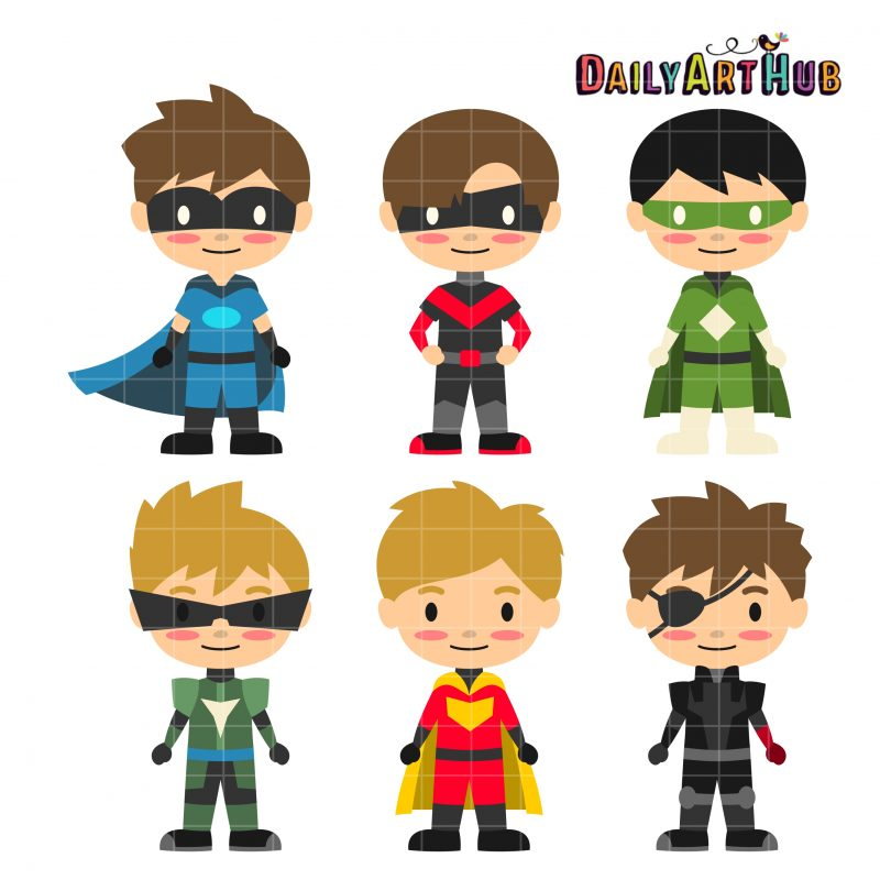 Boy Super Heroes