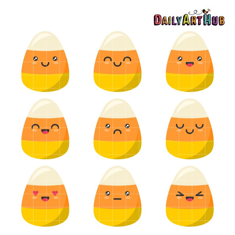 Candy Corn Emojis